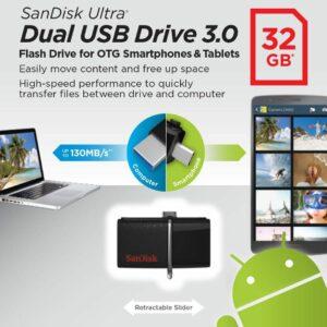 דיסק און קי 32 גיגה Ultra Dual Usb 3.0 1.jpg