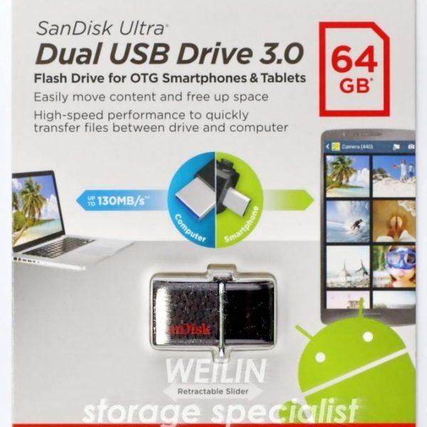 דיסק און קי 64 גיגה Ultra Dual Usb 3.0 1.jpg