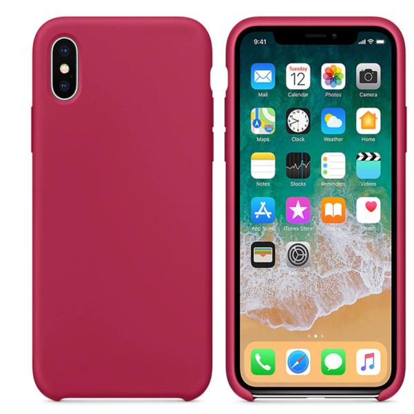 כיסוי סילקון בורדו אייפון X 1.png