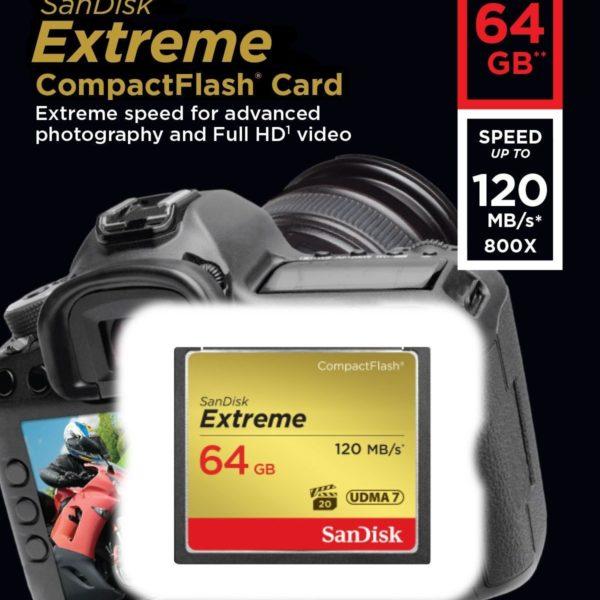 כרטיס זיכרון 64 גיגה Extreme Compactflash 1.jpg