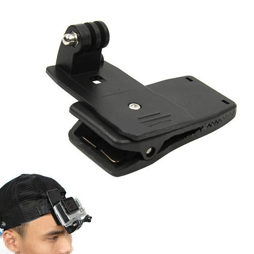360 Degree Rotary Backpack Rec Mounts Clip Fast Clamp Mount For Gopro Hero 4 3 3 1.jpg