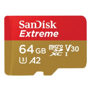 כרטיס זיכרון 64 ג'יגה EXTREME SD UHS I CARD סאן דיסק