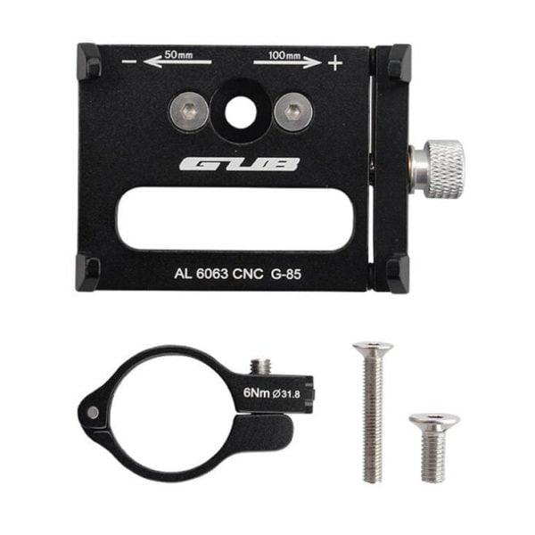 Gub G85 G 85 Aluminum Mtb Bike Bicycle Phone Holder Motorcycle Support Gps Holder For Bike 2 1.jpg