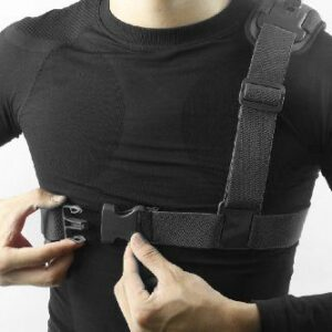 Megagear Chest Shoulder Strap Mount Harness For Gopro Gopro Hd Gopro Hero3 With Megagear Cleaning Cloth Black 0 1 1.jpg