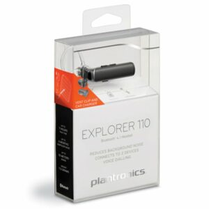 Plantronics Explorer 110 Bluetooth Wireless Earphone Voice Dialing With Headset Holder In Car Charging Mic For.jpg