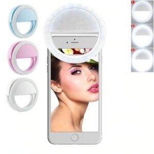פלאש LED לסמארטפון המאפשר צילומי סלפי ווידאו