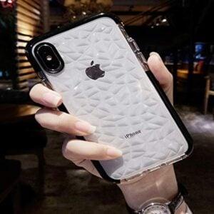 Aikeduo 3pcs Luxury Geometric Diamond Transparent Soft Tpu Clear Phone Case For Iphone X 7 7 Plus 6 41s0ydfgsol 1.jpg