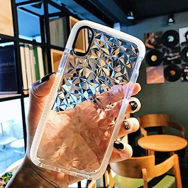 Aikeduo 3pcs Luxury Geometric Diamond Transparent Soft Tpu Clear Phone Case For Iphone X 7 7 Plus 6 517rducfnyl 1.jpg
