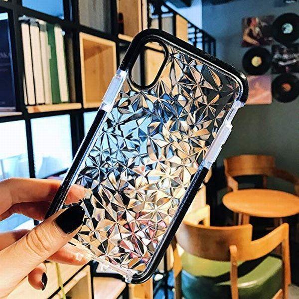 Aikeduo 3pcs Luxury Geometric Diamond Transparent Soft Tpu Clear Phone Case For Iphone X 7 7 Plus 6 61n Zbenwzl 1.jpg