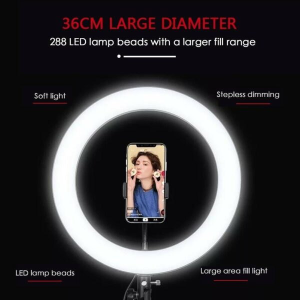 Creative Solution Ring Led Light With Tripod1