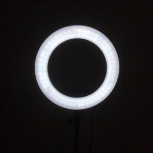 """רינג לייט תאורה עם חצובה 34 ס""""מ עד 2 מטר מקצועי"""