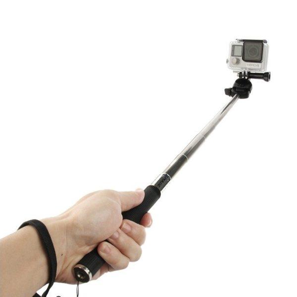 Gopro Handheld Monopod Selfie Telescopic Extendable Stick Camera Holder For Hero 4 3 3 2 1 In Black 1.jpg