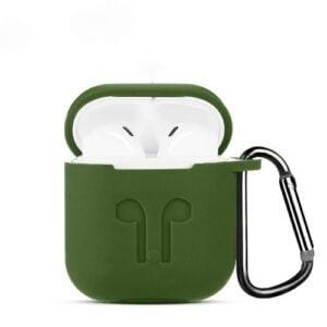 כיסוי סיליקון לאיירפודס Airpods ירוק