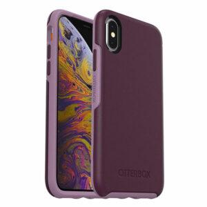 מגן כיסוי OtterBox Symmetry סגול לאייפון X/XS הכיסוי החזק בעולם