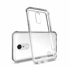 כיסוי מגן סיליקון ל-LG K10 2017 עם פינות בולמות זעזועים Shock Proof