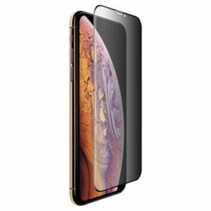 מגן מסך זכוכית מלא שומר על פרטיות לאייפון X/XS