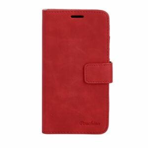נרתיק ארנק אדום מתפרק לאייפון 7/8 מבית Pouchino בסדרת IDEAL המגנטית