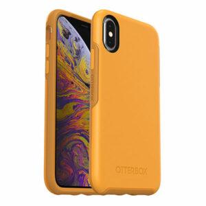 מגן כיסוי OtterBox Symmetry כתום לאייפון X/XS הכיסוי החזק בעולם