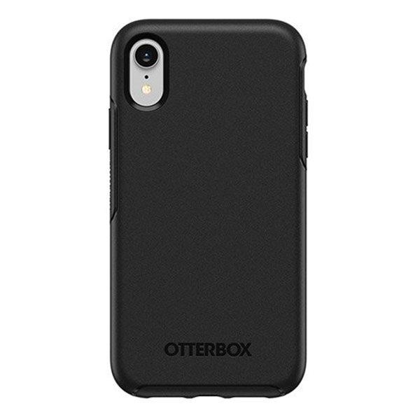 מגן כיסוי OtterBox Symmetry שחור לאייפון XR הכיסוי החזק בעולם