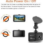 מצלמת רכב קדמית עם סטנד תלייה וראיית לילה ברזולוציית Full HD