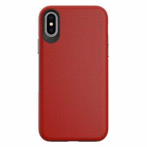 כיסוי מגן שתי שכבות קומבו הכולל מגנט מובנה לאייפון X/XS אדום