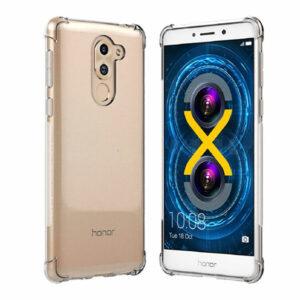 כיסוי סיליקון ל-Huawei Honor 6X עם פינות בולמות זעזועים Shock Proof