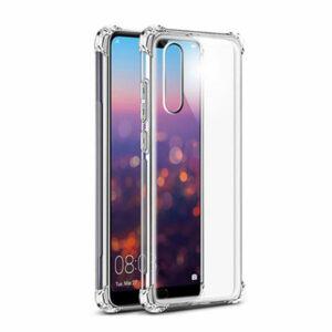 כיסוי סיליקון ל-Huawei P20 עם פינות בולמות זעזועים Shock Proof