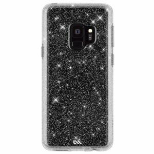 מגן כיסוי לגלקסי S9 שקוף נצנצים Case Mate
