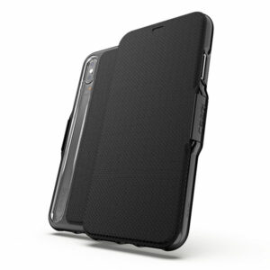 מגן כיסוי ספר D3O Oxford שחור לאייפון X/XS מבית Gear4
