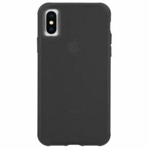 מגן כיסוי לאייפון X/XS שקוף כהה Case Mate