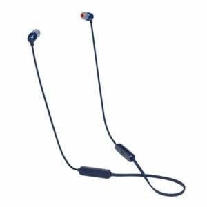 אוזניות אלחוטיות JBL Tune 115BT עם סאונד איכותי ונקי כחול