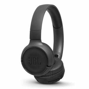 אוזניות JBL Tune 500BT קשת אלחוטיות עם מיקרופון מובנה שחור