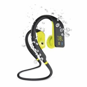 אוזניות ספורט אלחוטיות JBL Endurance Dive BT עם נגן MP3 מובנה צהוב