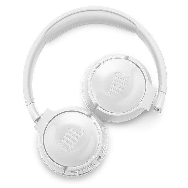 אוזניות JBL Tune 600BTNC קשת אלחוטיות עם סינון רעשים לבן