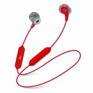 אוזניות ספורט אלחוטיות JBL Endurance Run BT עמידות בפני זיעה אדום