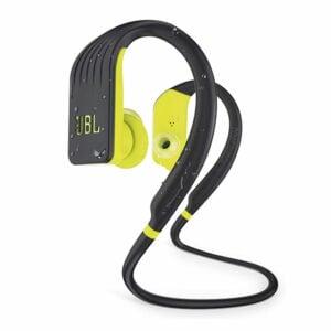 אוזניות ספורט אלחוטיות JBL Endurance Jump עם חיי סוללה ארוכים צהוב