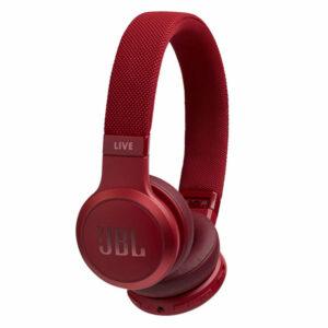 אוזניות JBL Live 400 BT קשת אלחוטיות עם סאונד איכותי אדום