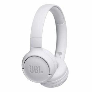 אוזניות JBL Tune 500BT קשת אלחוטיות עם מיקרופון מובנה לבן