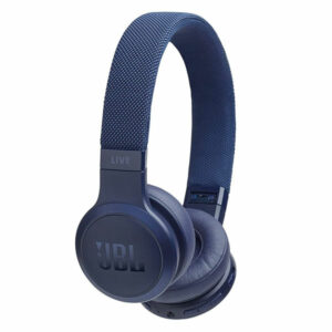 אוזניות JBL Live 400 BT קשת אלחוטיות עם סאונד איכותי כחול
