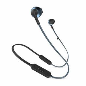 אוזניות אלחוטיות JBL Tune 205BT עם סאונד עוצמתי וחד כחול