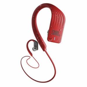 אוזניות ספורט אלחוטיות JBL Endurance Sprint עמידות בפני מים אדום