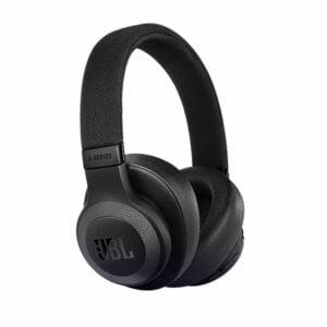 אוזניות JBL E65BTNC קשת אלחוטיות עם בס עוצמתי וסינון רעשים שחור