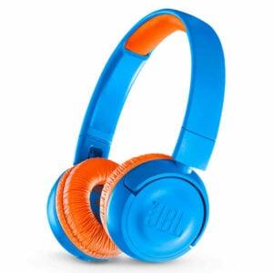 אוזניות JBL JR300BT קשת אלחוטיות לילדים עם סאונד איכותי וצלול כחול