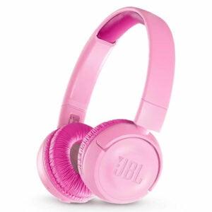 אוזניות JBL JR300BT קשת אלחוטיות לילדים עם סאונד איכותי וצלול ורוד