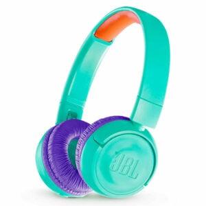 אוזניות JBL JR300BT קשת אלחוטיות לילדים עם סאונד איכותי וצלול טורקיז