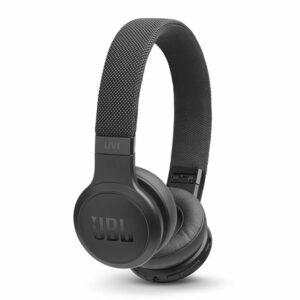 אוזניות JBL Live 400 BT קשת אלחוטיות עם סאונד איכותי שחור