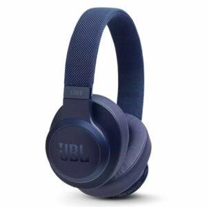 אוזניות JBL Live 500 BT קשת אלחוטיות עם חיי סוללה ארוכים כחול