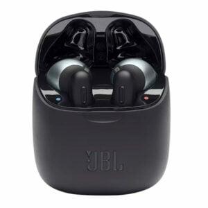 אוזניות JBL Tune T220 TWS אלחוטיות בעלות צליל נקי שחור