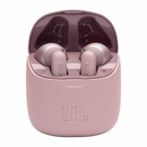 אוזניות JBL Tune T220 TWS אלחוטיות בעלות צליל נקי ורוד