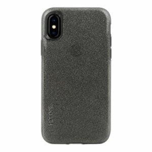 מגן כיסוי לאייפון X/XS שקוף שחור נצנצים Skech Matrix Sparkle